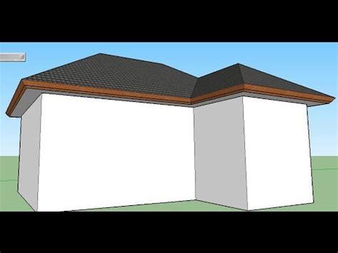 Tutorial Sketchup Membuat Atap Mudah Dan Cepat