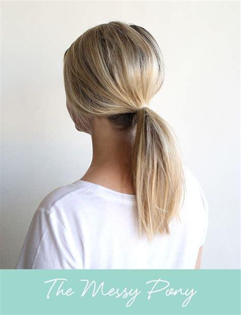 trend alert  easy ways  wear   pony   fancy huh hair hair styles