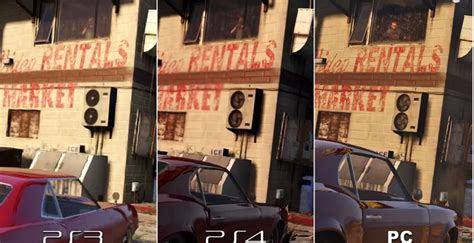 Gta V  Les Graphismes 4k Pc Comparés à Ceux Des Ps4 Et Ps3