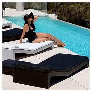 Bain De Soleil Design : coussin pour bain de soleil jut vondom les jardins d 39 h m ra ~ Teatrodelosmanantiales.com Idées de Décoration