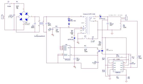 Viper 3000 Wiring Diagram by Viper22 Led Ev 350ma 32v Max 90 264vac In Digikey
