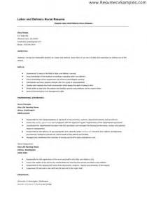 nursing cover letter sles resume genius in nursing