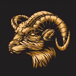 Zodiac Aries Black Royalty Free Stock Photography - Image ...