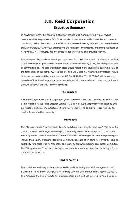 The most important assessment of a business plan format is to produce a written summary that assesses all the features of some of them are mentioned as under: Free Printable Business Plan Sample Form (GENERIC)
