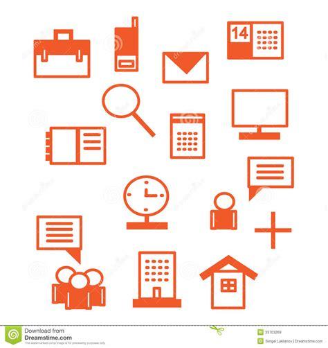icones de bureau gratuites icônes de bureau en illustration de vecteur