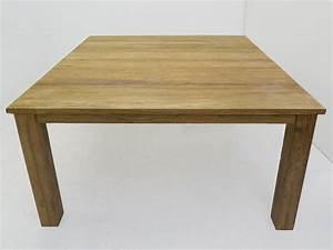Tisch Für 8 Personen : tisch esstisch esszimmertisch teakholz massiv 4 8 personen 80x150x150 cm 4488 tische esstische ~ Bigdaddyawards.com Haus und Dekorationen