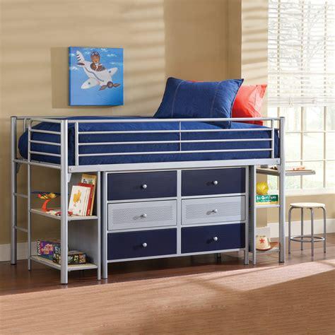 Junior Loft Bed by Universal Junior Loft With Dresser Bunk Beds Loft Beds