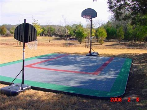 Outdoor Basketball Court Flooring   UltraBaseSystems®