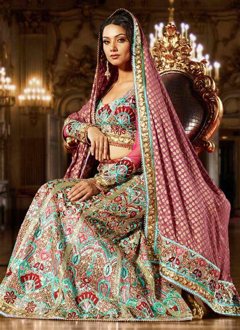 By Fashion Latest Pakistani Bridal Lehenga Styles