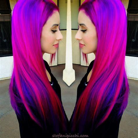 Best 25 Bright Pink Hair Ideas On Pinterest Crazy