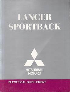 2010 Mitsubishi Lancer Sportback Electrical Wiring Diagram