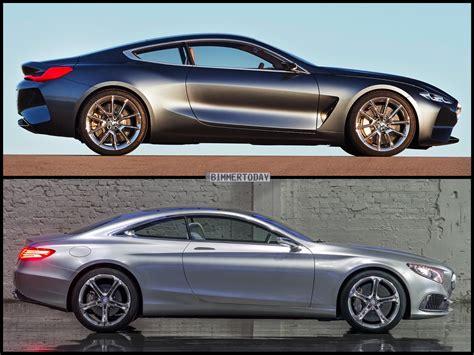 Bmw 8 Series Concept Vs Mercedes-benz S