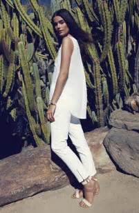 All White Summer Style