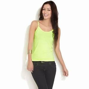 Neon Green Camisole Top Buy Neon Green Camisole Top