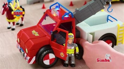 feuerwehrmann sam fahrzeuge mit phoenix simba toys