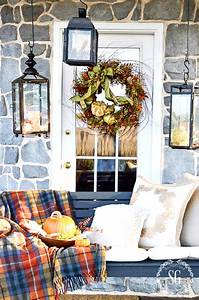 Outdoor, Ideas, For, Fall, Decorating