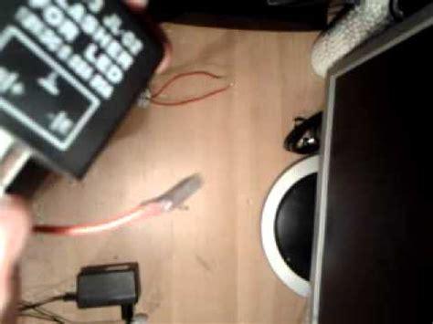 montage d un relais clignotant