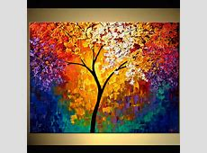 Painting abstract tree of life #6511