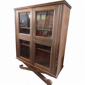 Vitrine Bois Et Verre : vitrine vintage en bois et verre 1930 design market ~ Teatrodelosmanantiales.com Idées de Décoration