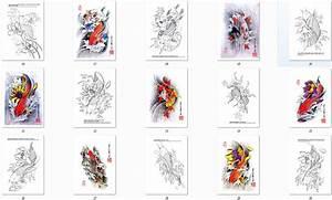 Koi Tattoo Vorlagen : tattoo vorlagen book buch koi din a4 auf 68 seiten neu ebay ~ Frokenaadalensverden.com Haus und Dekorationen