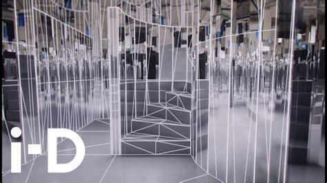 enter  mirror maze es devlins video sculpture
