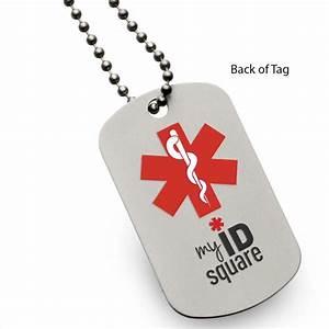 diabetic medall tag