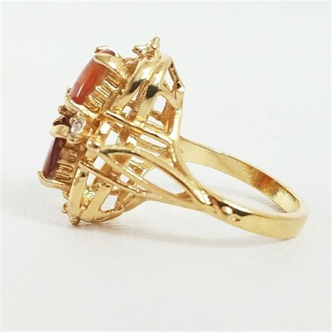 Vintage  Vintage 18k Gold Amber & Diamond Ring From. Mechanical Wedding Rings. Long Skinny Finger Wedding Rings. Tree Wedding Rings. Woman Set Engagement Rings. Sam N Sue Wedding Rings. Aluminum Rings. Lovely Couple Wedding Rings. 2pc Wedding Rings