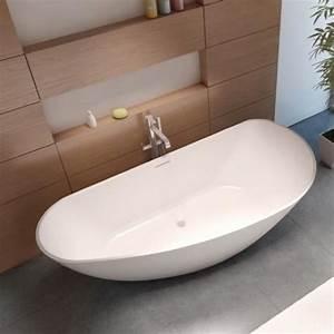 Baignoire Ilot Pas Cher : baignoire lot en solid surface riho granada 190 x90 cm ~ Premium-room.com Idées de Décoration