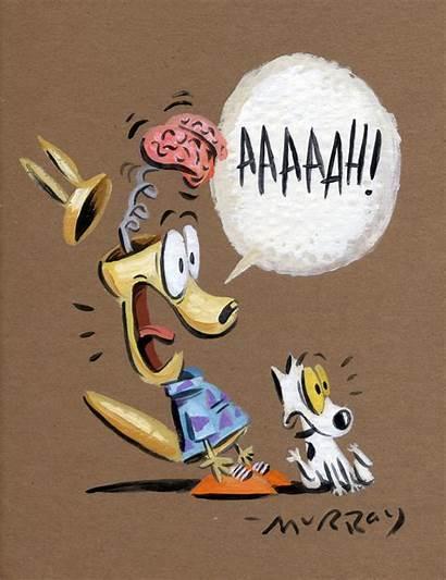 Cartoons Rocko Cartoon Murray Joe 1990s Brain