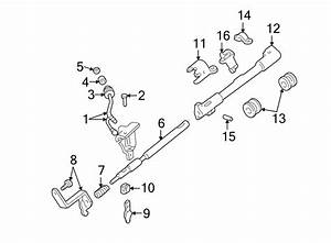Ford Ranger Automatic Transmission Shifter Linkage  Tube