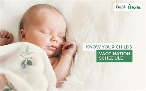 vaccination chart  babies  india  baby immunization schedule  nest