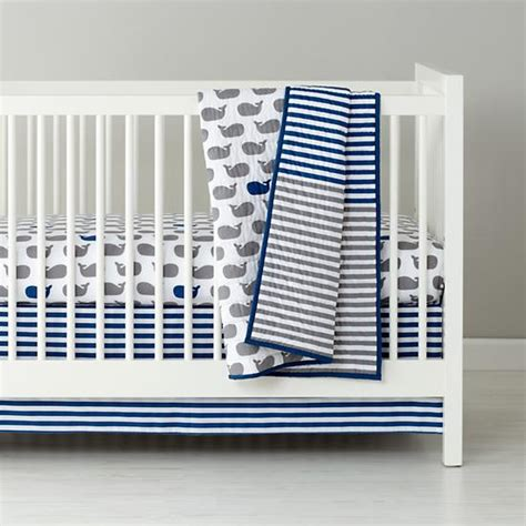 3in1 white crib bedding and baby bedding the land of nod rachael