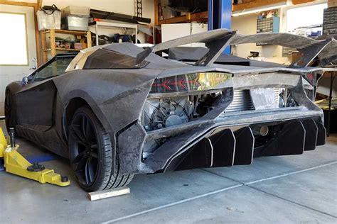 Lamborghini Aventador 3d Drucker by Physicist 3d Prints A Lamborghini Aventador In His Own Garage