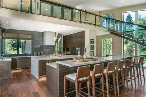 contemporary  island kitchen designs  cook