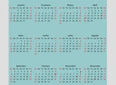Calendário 2019 Online