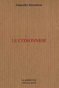 Prix D Un Citronnier : le citronnier samantha barendson critique livre ~ Premium-room.com Idées de Décoration
