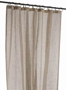 Rideau Voilage Lin : voilage lin naturel gamme brise naturel mon rideau deco ~ Teatrodelosmanantiales.com Idées de Décoration