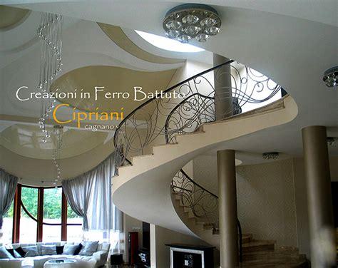 ringhiera in ferro battuto per interno ferro battuto scalinate per interni