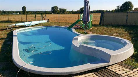 piscine coque piscines coque 224 fond plat charente maritime 17 piscine freedom