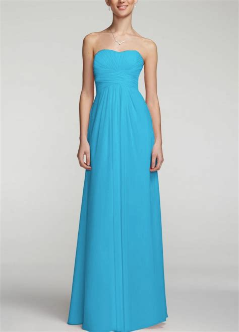 bright blue bridesmaid dress   spring wedding  love