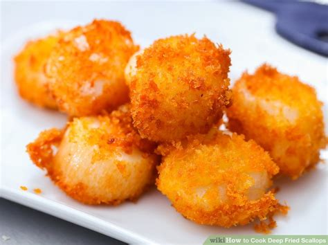 fried scallops how to cook deep fried scallops 12 steps with pictures