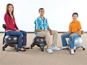 stability ball chairs physical activity in the classroom