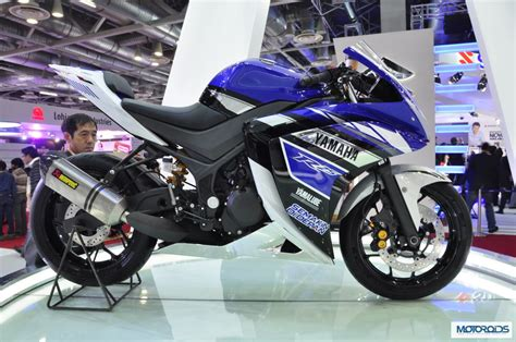 Yamaha R25 Image by Auto Expo 2014 Live Yamaha R25 Concept Showcased Images