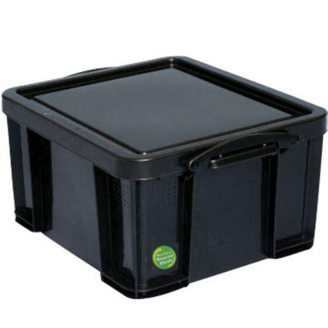 storage box sale on really useful box 42 litre storage box black