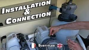 Pompe Piscine Intex 6m3 : montage de mon filtre sable et pompe intex ~ Mglfilm.com Idées de Décoration