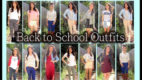12 Back To School Outfit Ideas