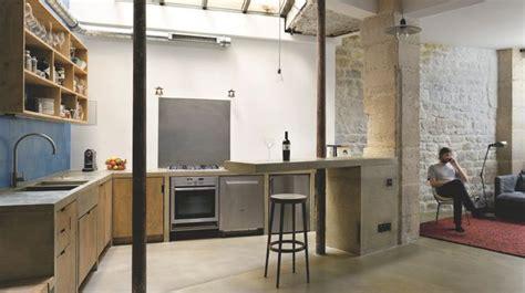 cuisine salon aménager une cuisine ouverte côté maison