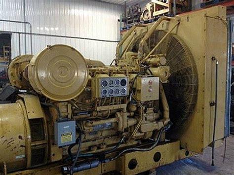 caterpillar  industrial generator set