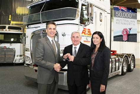 paccar australia paccar australia delivers its 50 000th truck news