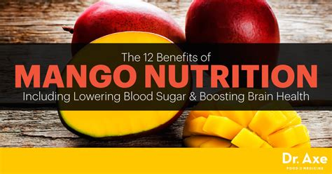 Mango Nutrition Helps Lower Blood Sugar & Boost Brain